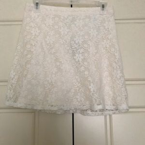 White Abercrombie and Fitch skirt new with tags